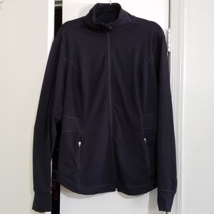 Old Navy Jackets & Coats - Black Fitted Active Zip Jacket (Size XXL)